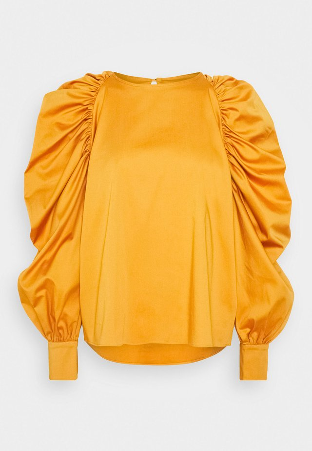 Blouse - thick orange