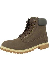 Fila - MAVERICK  - Lace-up ankle boots - brown - 2