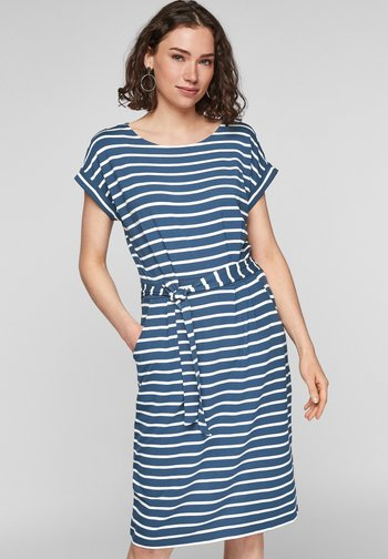 ROBE  - Day dress - faded blue stripes