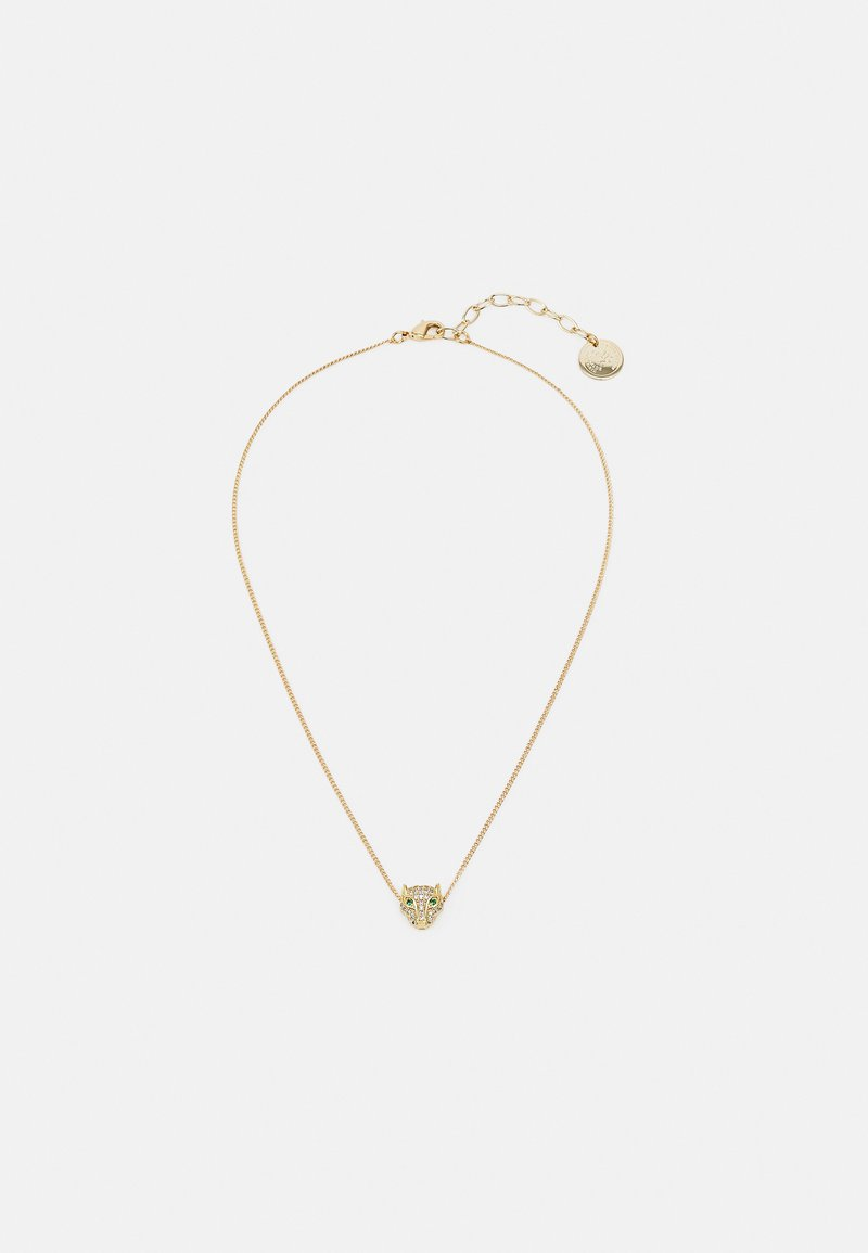 Anton Heunis - SHORT CHAIN WITH LEOPARD PENDANT - Halsband - gold-coloured