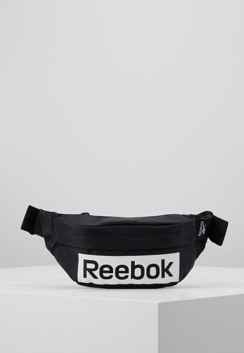 Reebok - LINEAR LOGO WAISTBAG - Ledvinka - black