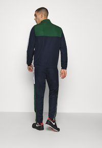 Lacoste Sport - TENNIS TRACKSUIT - Tracksuit - green/navy blue/white - 2