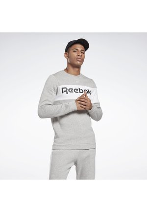 TRAINING ESSENTIALS FLEECE CREW SWEATSHIRT - Sweatshirt - grey