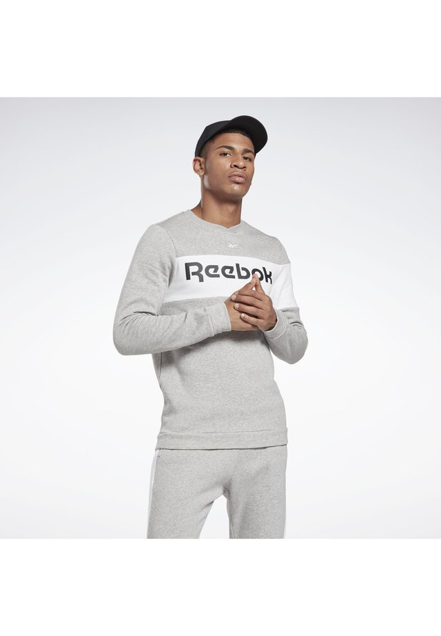 TRAINING ESSENTIALS FLEECE CREW SWEATSHIRT - Sweater - grey
