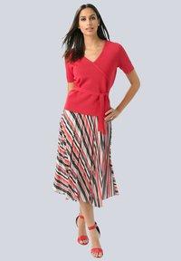 Alba Moda - A-line skirt - rot - 1