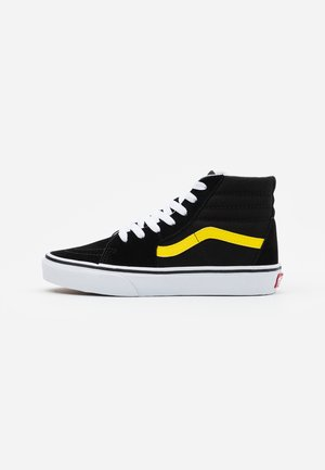 SK8 UNISEX - Sneakers hoog - black/blazing yellow/true white