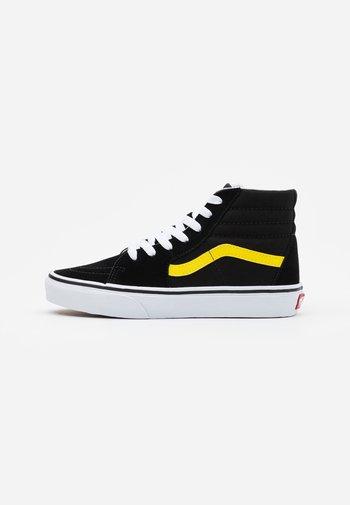 SK8 UNISEX - High-top trainers - black/blazing yellow/true white