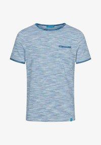 Colours & Sons - MARIO - Print T-shirt - blau - 3