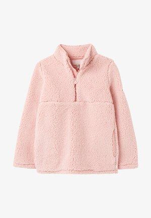 Fleece jumper - rubinrot rosa