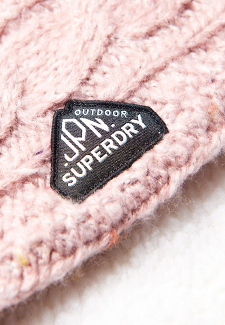 Superdry Gracie Cable - Schlauchschal Medium Aged Tp/pink