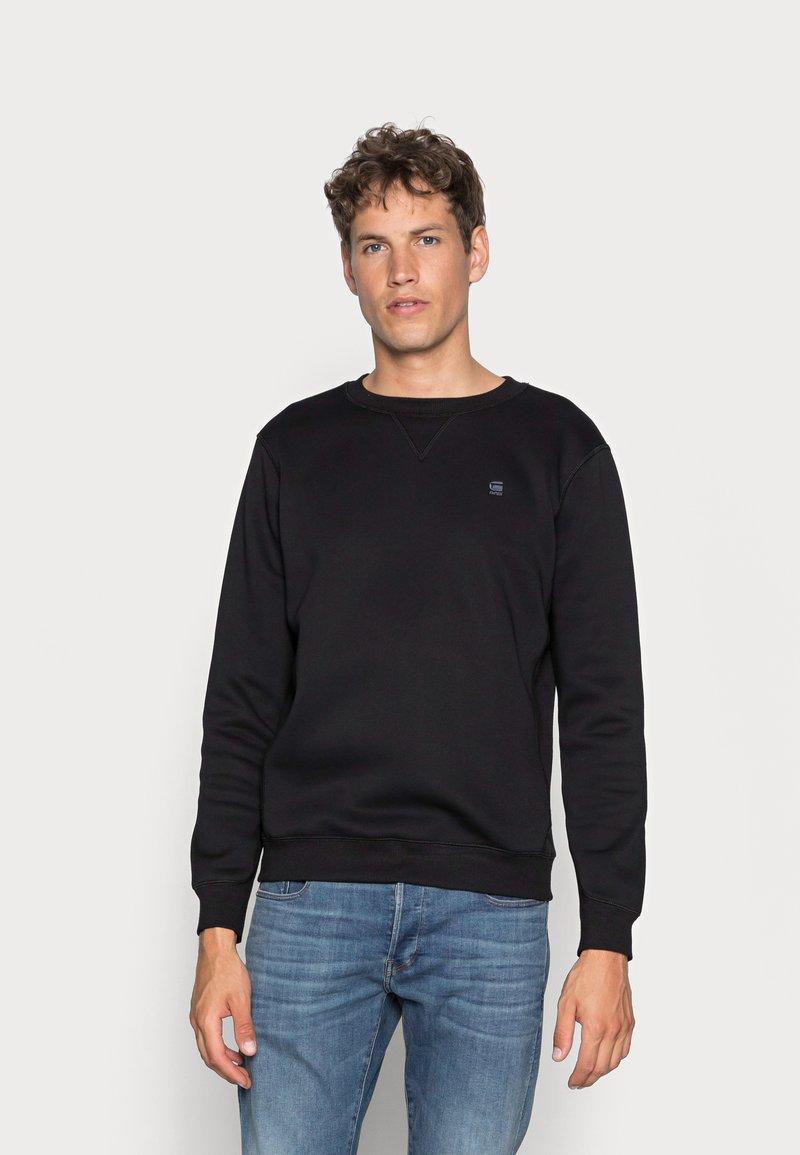 G-Star - PREMIUM CORE R SW L\S - Sweatshirts - black