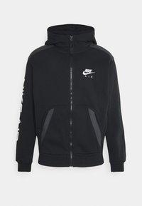 Nike Sportswear - HOODIE - Huvtröja med dragkedja - black - 0
