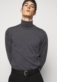 J.LINDEBERG - LYD - Stickad tröja - dark grey melange - 3