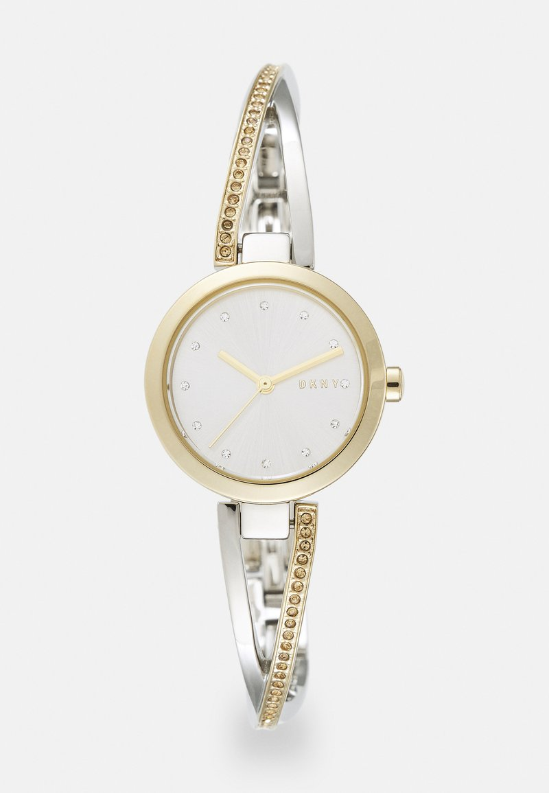 DKNY - CROSSWALK - Watch - silver-coloured/gold-coloured