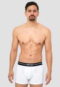 INDICODE JEANS - 7 PACK - Pants - white/grey/black - 3