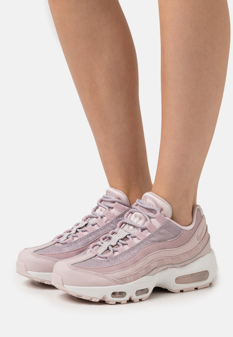 Nike Sportswear - AIR MAX 95 - Sneakers laag - barely rose/plum chalk/silver lilac/summit white