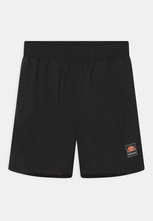 SALIOS UNISEX - Shorts - black/dark red