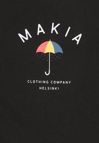 Makia - SONTSA  - Printtipaita - black - 2