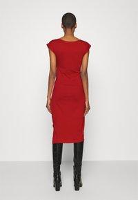 Anna Field - Pouzdrové šaty - red - 2