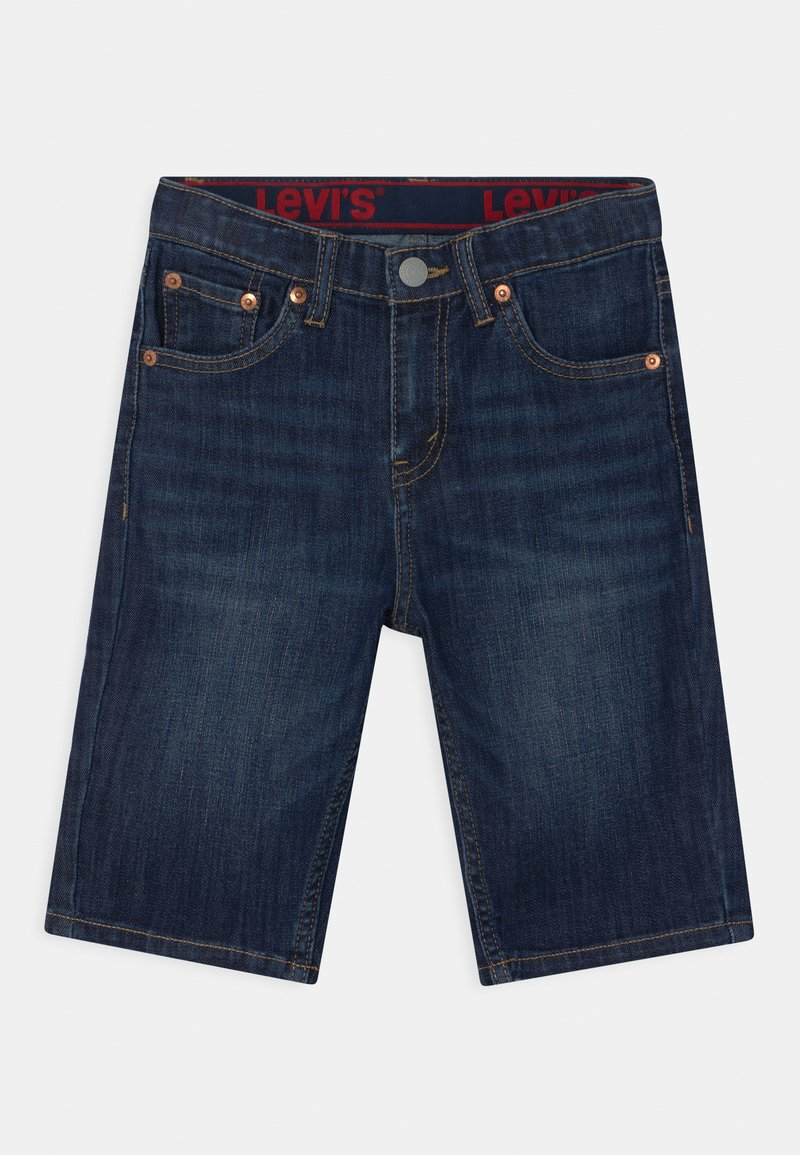Levi's® - PERFORMANCE  - Jeans Short / cowboy shorts - dark blue denim