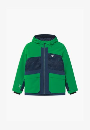 ESTEEM UNISEX - Snowboardová bunda - green/dark blue