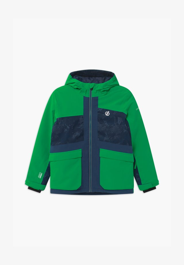 ESTEEM UNISEX - Snowboard jacket - green/dark blue