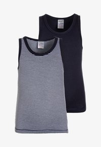 Jacky Baby - BOYS 2 PACK - Undershirt - dark blue - 0