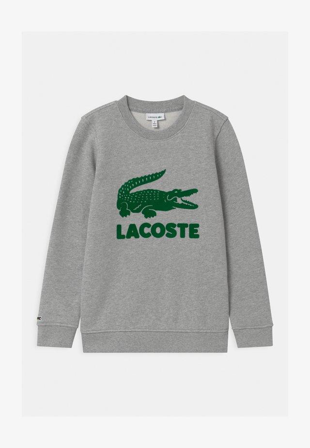 LOGO UNISEX - Sweatshirt - argent