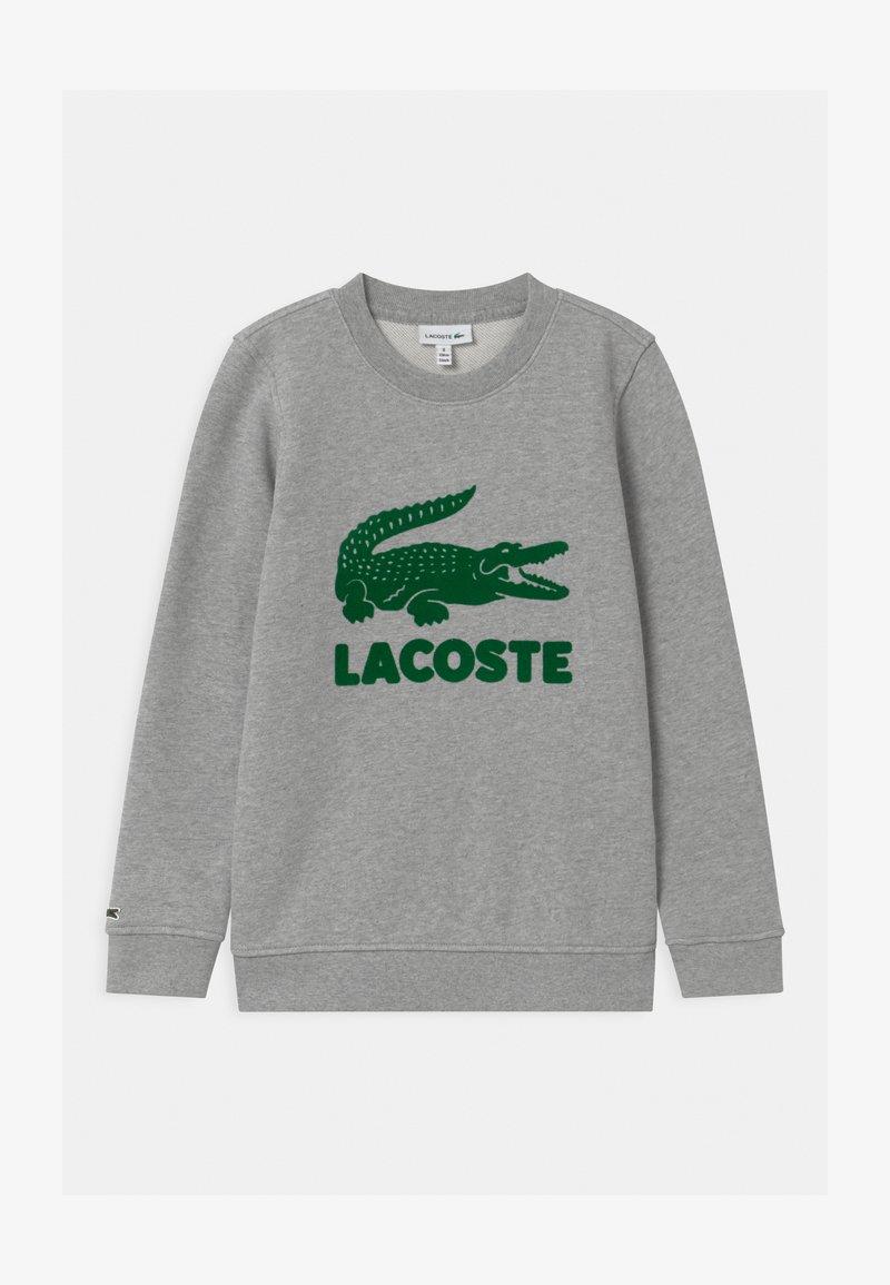 Lacoste - LOGO UNISEX - Sweatshirt - argent