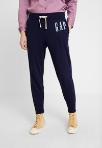 GAP - Teplákové kalhoty - navy uniform - 0