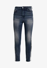 Diesel - BABHILA-HIGH-SP - Slim fit jeans - indigo - 6