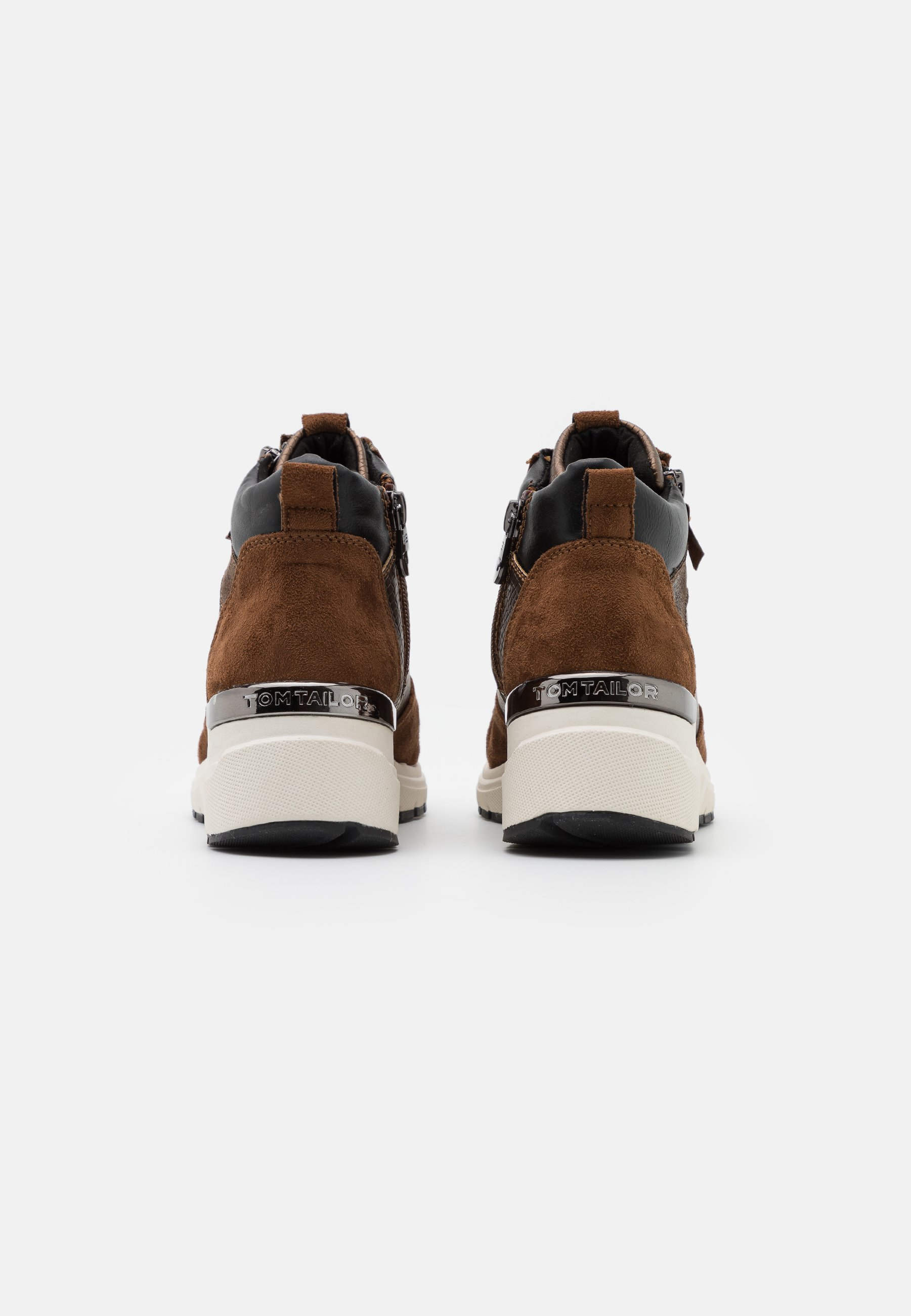 Tom Tailor Sneaker High - Brown/braun
