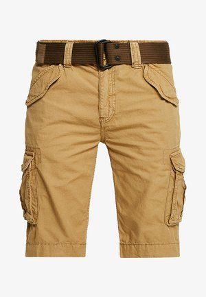 BATTLE - Shorts - beige