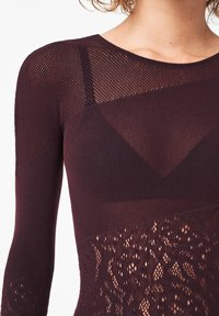 Wolford - POISON DART NET STRING - Body - chateau - 2