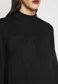 Dorothy Perkins Tall - BLACKSHIRRED DRESS - Jersey dress - black - 5