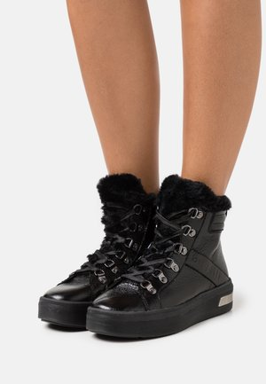 MILKA - High-top trainers - black