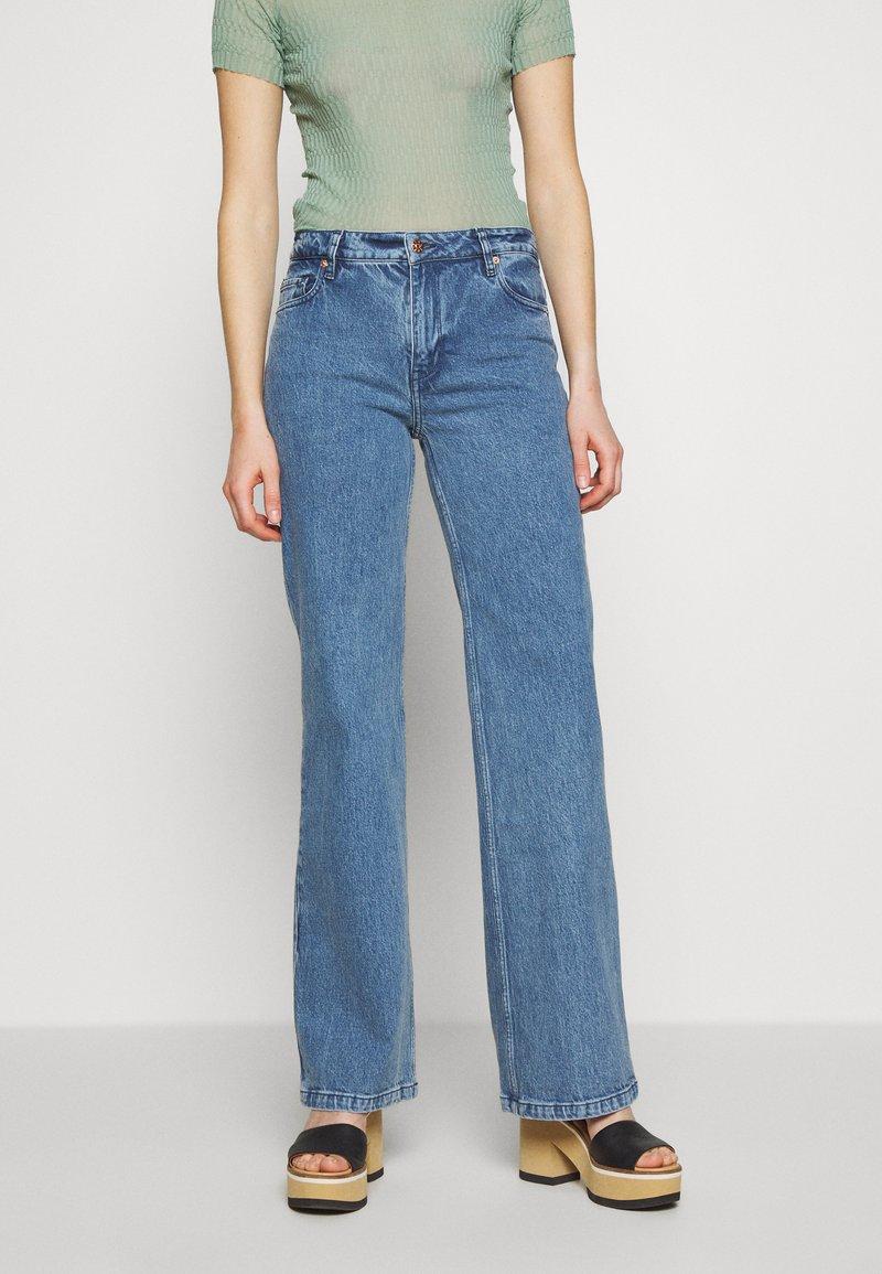 BLANCHE - WINONA - Džíny Straight Fit - vintage blue