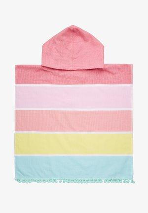 KIDS HOODED FOUTA TOWEL - Ručník - pink