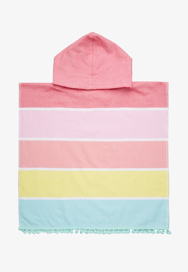 KIDS HOODED FOUTA TOWEL - Bath towel - pink