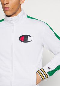 Champion - ROCHESTER RETRO BASKET FULL ZIP - Kurtka sportowa - white/green - 6