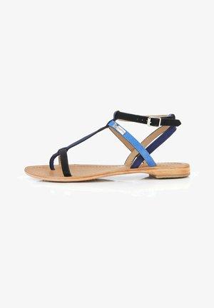 Sandales - noir bleu