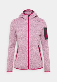 CMP - WOMAN FIX HOOD JACKET - Fleece jacket - granita - 0
