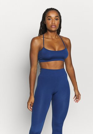 Light support sports bra - blue