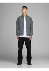 Jack & Jones - JERUSH - Bomber Jacket - dark grey - 1