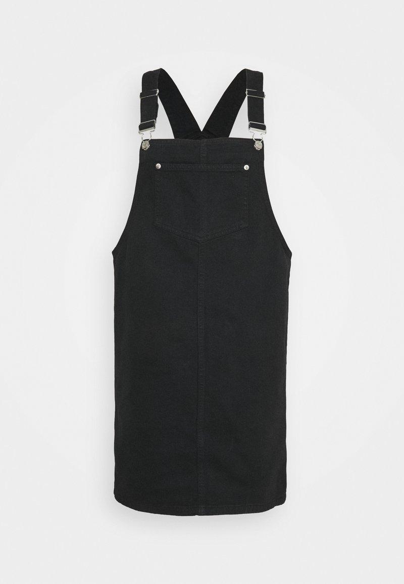 New Look Tall - PADDY PINNY - Robe en jean - black