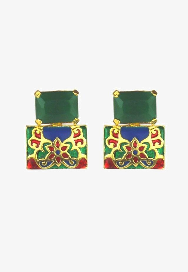 Orecchini - green