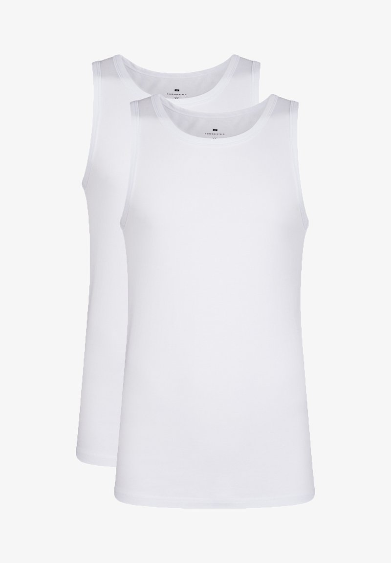 WE Fashion - 2-PACK - Top - white
