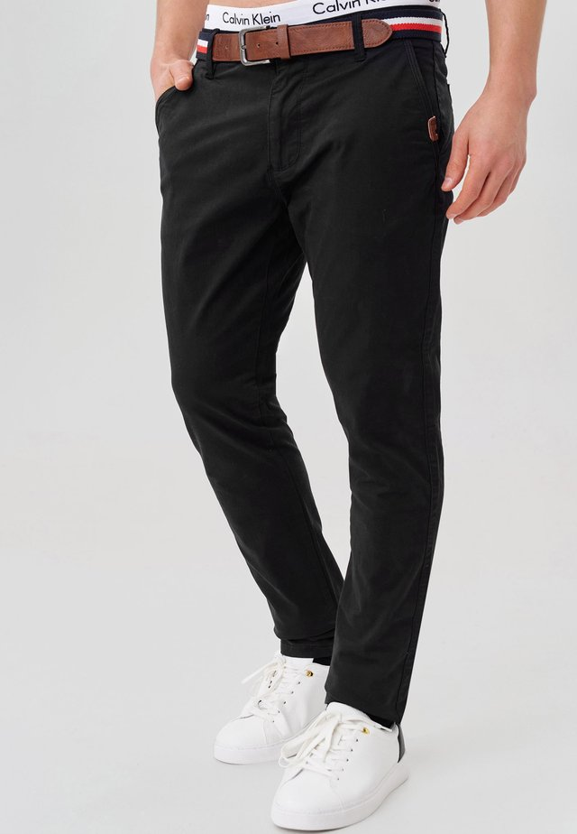 CHERRY - Chino - black