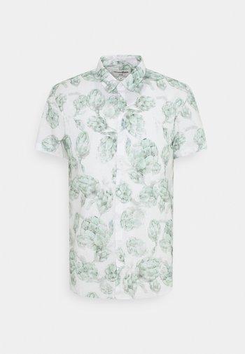 SHORT SLEEVE - Skjorta - white