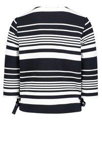 Betty Barclay - MIT RINGEL - Sweatshirt - dunkelblau/weiß - 1